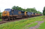 CSX 5250 Q438-08 (7 locomotives, 4 UP)