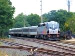 NJT 4023 Pushing Train 6230