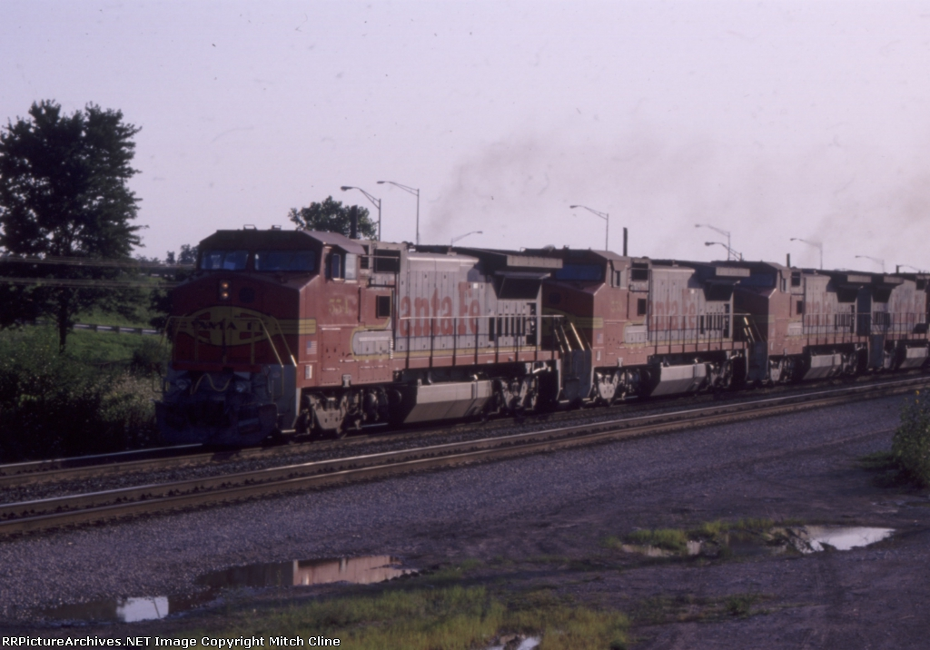 Westbound intermodal out of Corwith