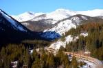 Ski Train Going Away