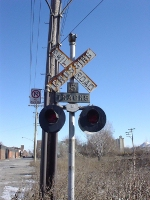 Old crossing signal