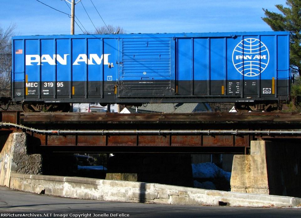 Maine Central/PanAm boxcar 31995