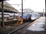 MARC 4915 and Amtrak Acela 2034