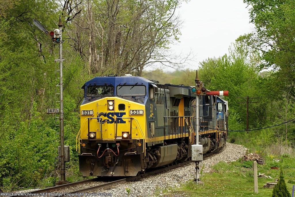 CSX 531 AC44CW