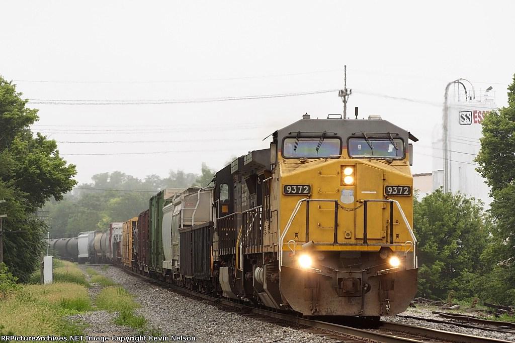 UP 9372 C40-8W