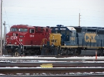 CSX CP Side By Side