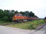 Big BNSF Power on a Weak ex-BN Line (the Nebraska Northeastern)