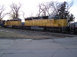 Two of the Three SD40-2 Units Operating on the UP's Beatrice Branch Between Lincoln, NE and Valley, NE