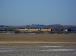 Three SD40-2's Drop off Some Tankers Before Proceeding on to Lincoln