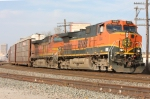 BNSF 894 comes to a stop at 23rd St. after a run from Arkansas City, KS