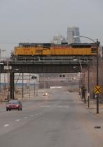 Eastbound UP Loaded Coal Train DPU