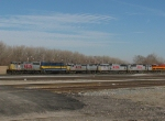 KCS and ICE Locomotives at Knoche Yard