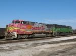 Local Assigned BNSF Locomotives