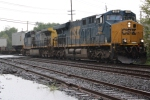 CSX Q172 through the Rain