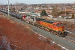 BNSF 4306 on CSX Q380-24