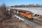 BNSF 5428 on CSX Q380-14