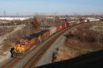 BNSF 4838 on CSX Q393-27