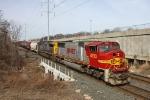 BNSF 8293 on CSX Q380-23