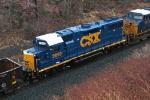 CSX 2693 on CSX Q640-24