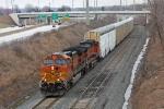 BNSF 5258 on CSX Q279-29