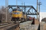 UP 5124 on CSX Q351-17