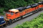 BNSF 9295 on CSX Y122-16