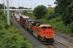 BNSF 9383 on CSX Q380-07