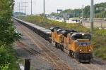 UP 8377 on CSX K250-09