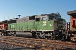 BNSF 8119 on CSX Q381-02