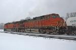 BNSF 5135 on CCSX Q381-12