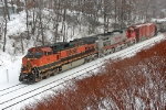 BNSF 988 on CSX Q393-19