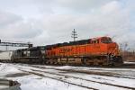 BNSF 7536 on CSX Q380-26