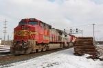 BNSF 657 on CSX Q381-26