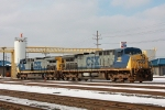 CSX 100 on CSX Q364-26 light power