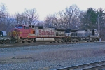 BNSF 659 on NS 62T