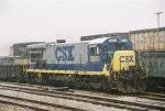CSX 5851 sits awaiting assignment