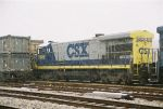 CSX 5885 sits second out