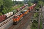 BNSF 4998 on NS 145