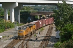 UP 4417 on NS 145