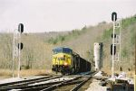 CSX 280 leads an eastbound coal load