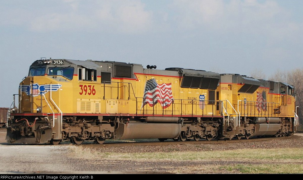 UP 3936 and 8530