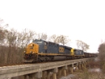 CSX 904 makes a rare visit to middle Georgia