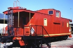 Illinois Central Steel Caboose