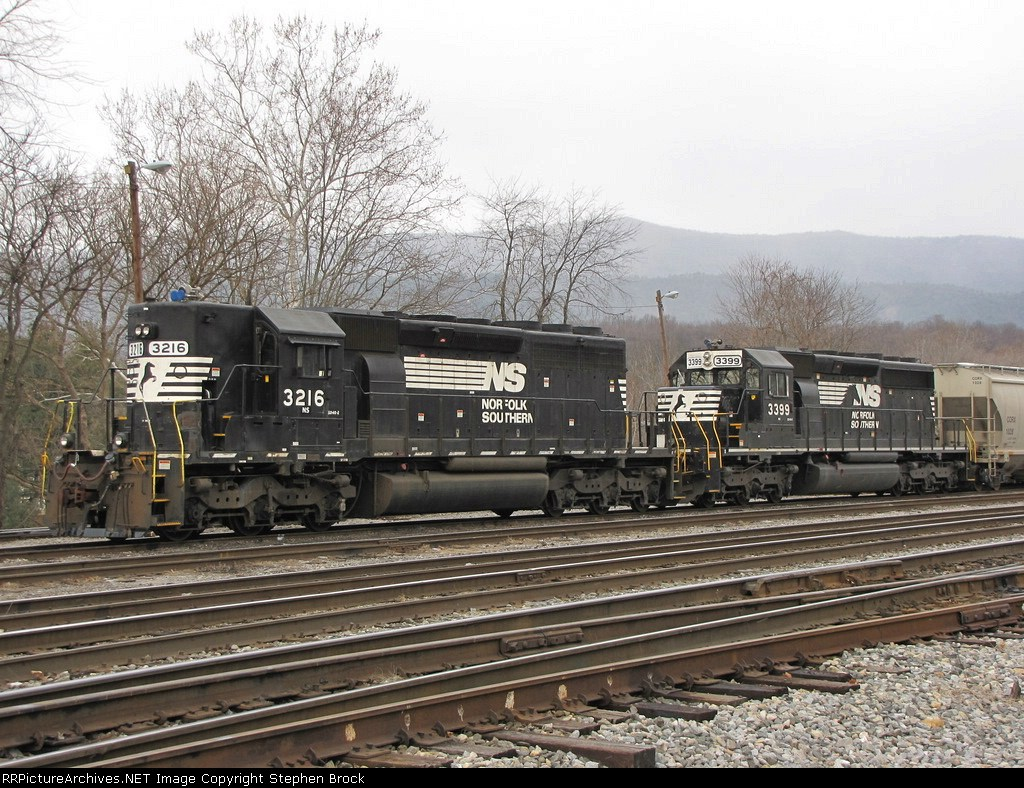 NS 3216 & 3399