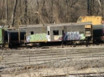 KCS Caboose at Erman Scrap yard