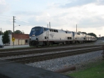 Amtrak Crescent #20 with #100 leading
