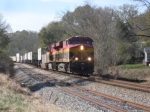 KCS EB intermodal train (NS #220)