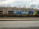 CSX 403 in the middle
