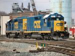 New Power at the Sandy Level Yard - CSX 6434 and 2321