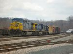 CSX 333 waits to proceed at Sandy Level Yard